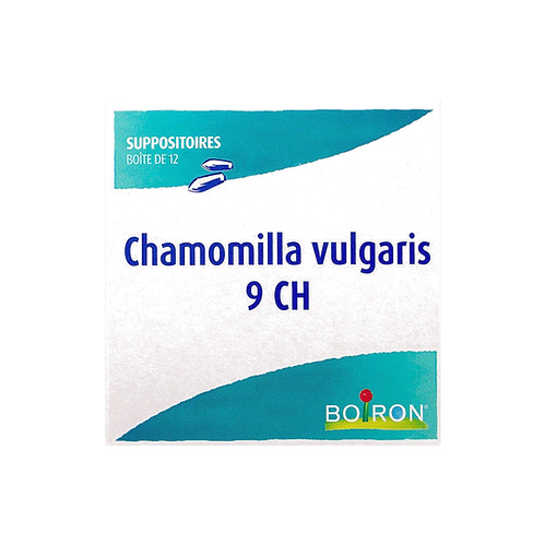 Boiron Chamomilla Vulgaris 9 CH 12 suppositories