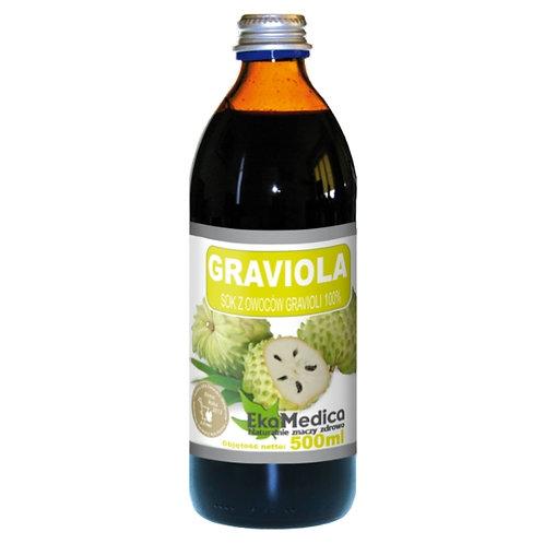 EkaMedica 100% Natural Gravioli (Soursop) Juice 500ml