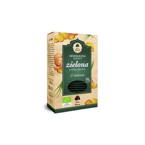 Organic Green Tea with Ginger 25x2g Sachets