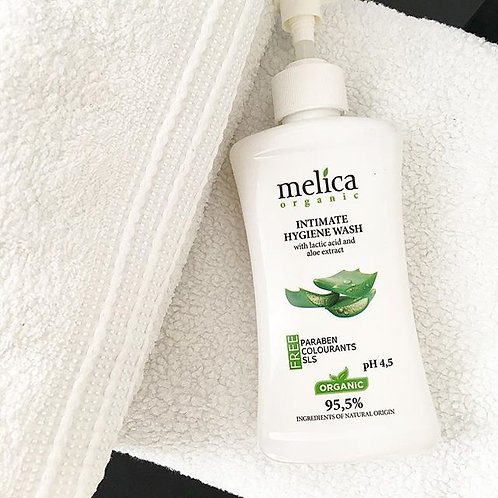 Melica Organic intimate wash gel  Lactic Acid & Aloe 300ml