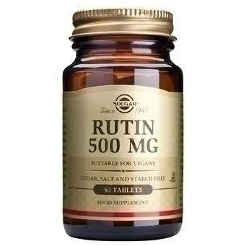 Solgar Rutin 500 mg Tablets