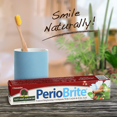 Nature's Answer PerioBrite Cinnamint Toothpaste 113g