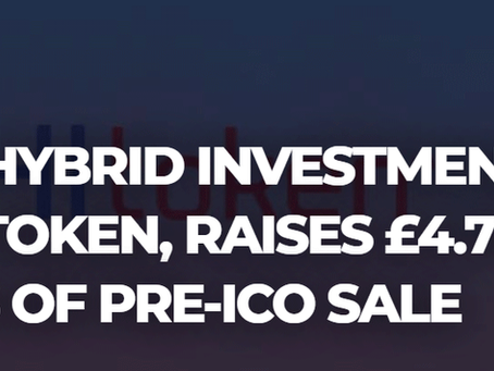 WORLD'S FIRST HYBRID INVESTMENT PLATFORM, PHI TOKEN, RAISES £4.7M IN FIRST TWO DAYS OF PRE-ICO SALE