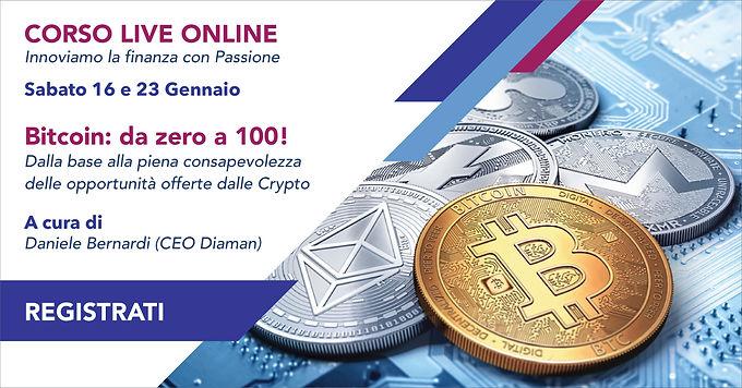 Bitcoin: da Zero a 100!