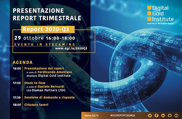 Report Trimestrale Digital Gold Institute