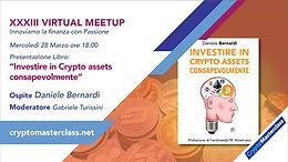 """Presentazione Libro: """"Investire in Crypto assets consapevolmente"""""""