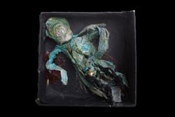 Mumien-Grab-Beigabe f. einen Krieger