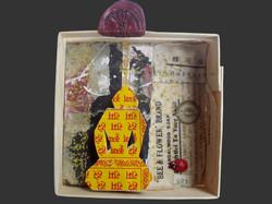 Kleiner, buddhistischer Reisealtar