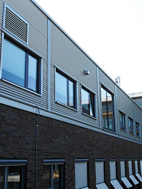 Basedow Klinikum Merseburg-Neubau Umkleide
