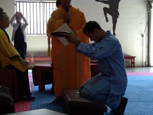 Became a Disciple to Master Shi Yan Xu