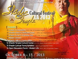 Shaolin Temple Cultural Festival in LA