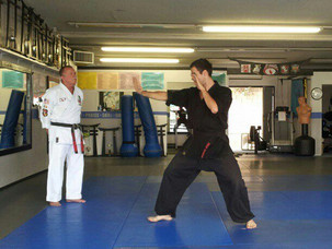 Third Degree Black Belt in Kenpo