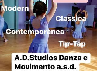 DANZA ! al via la nuova stagione di danza all'A.D.Studios a Treviglio