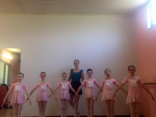 ESAME SUPERATO! le piccole allieve di A.D.Studios Danza e Movimento superano brillantemente l'es