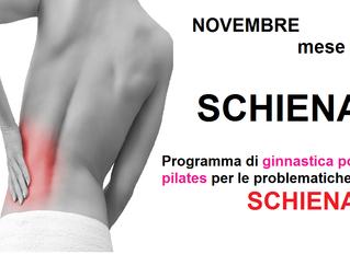 PILATES A TREVIGLIO: novembre mese della schiena