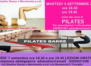 Pilates a Treviglio, lezioni aperte