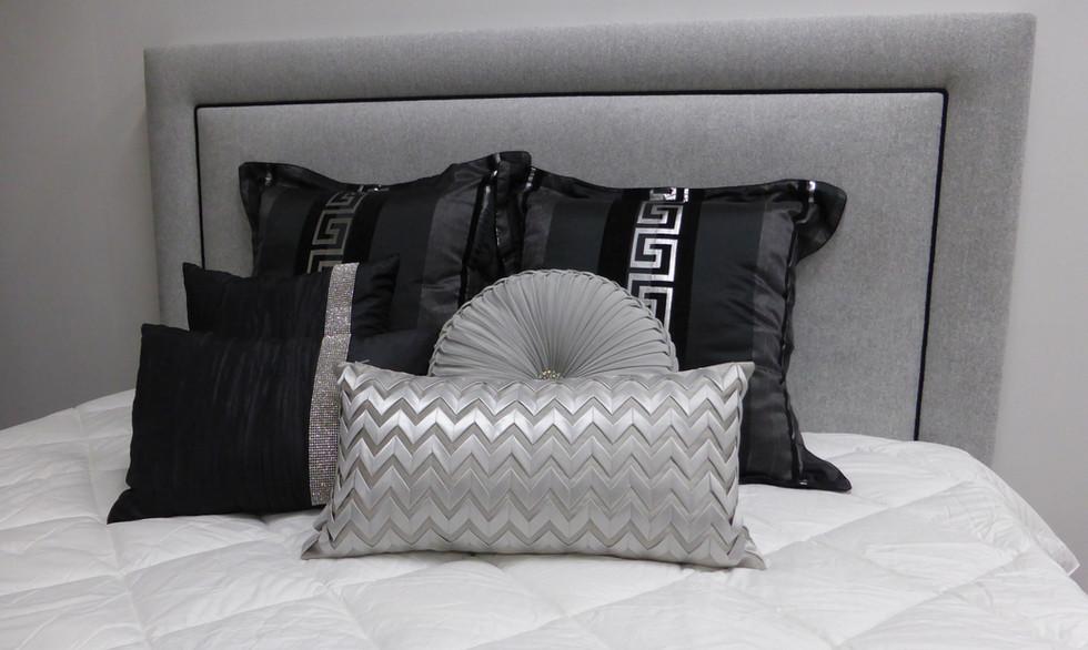 Ashley upholstered bedhead