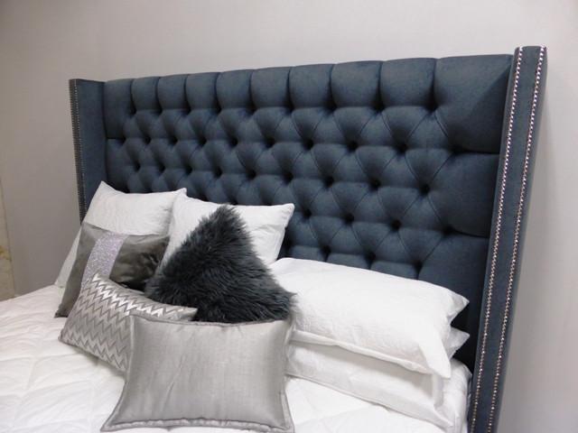 Mayfair wingback bed head