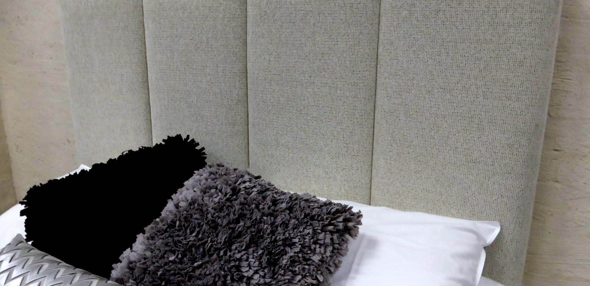 panel upholstered bedhead