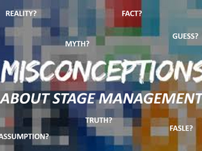 The Four Greatest Misconceptions of Stage Management