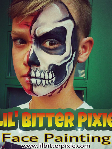 Lil' Bitter Pixie Face Painting / Kahlovera