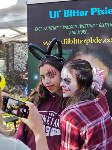 Lil' Bitter Pixie Face Painting