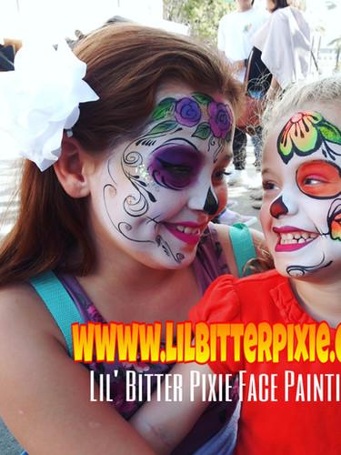Lil' Bitter Pixie Face Paining