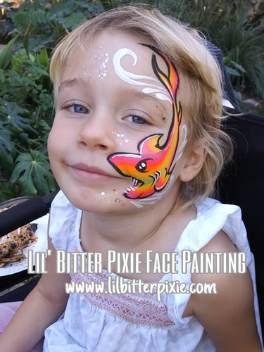 Lil' Bitter Pixie Face Paintin