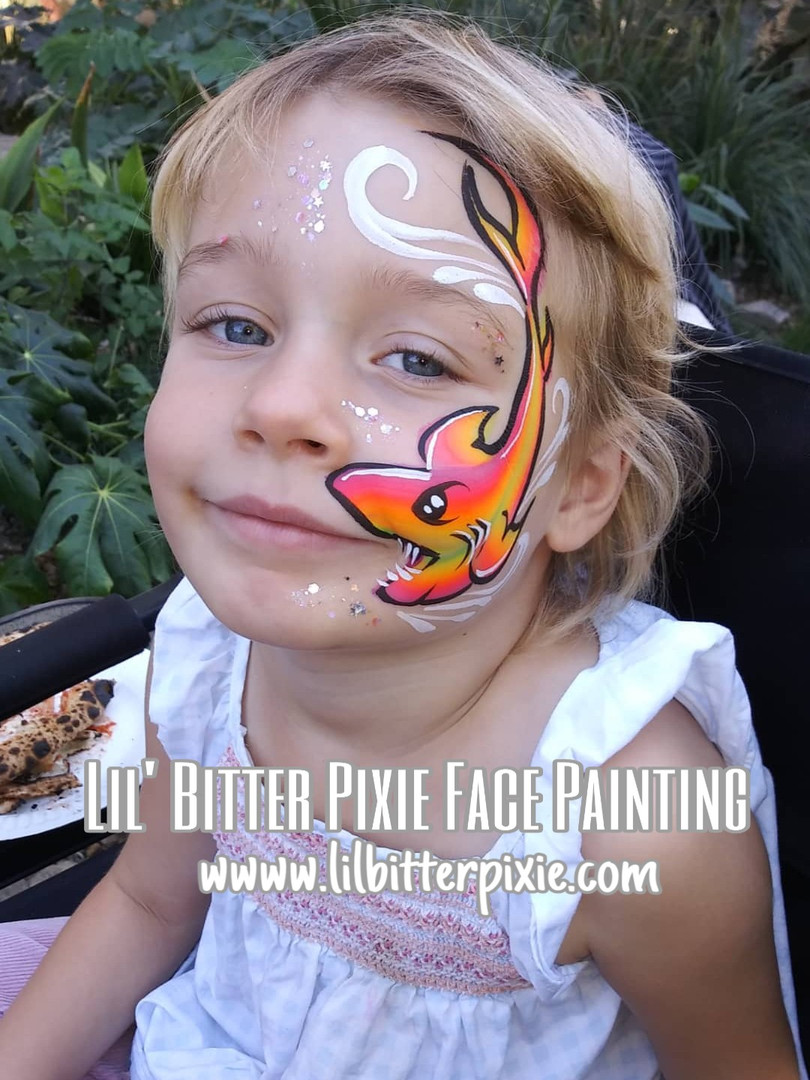 Lil' Bitter Pixie Face Paintin