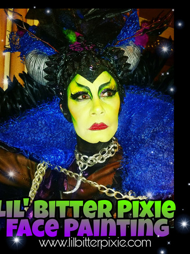 Lil' Bitter Pixie Body Art