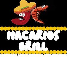 logo Macarios Grill blanco.png