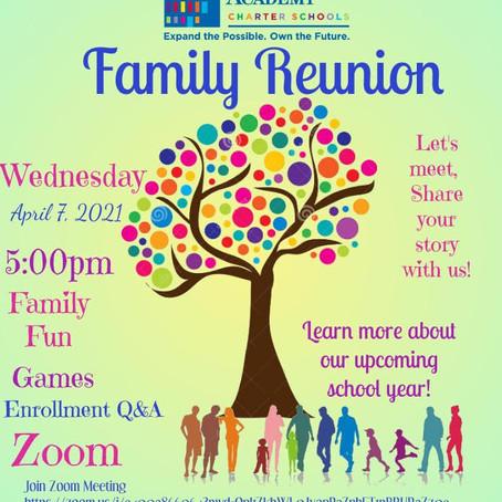 Family Reunion Fun!