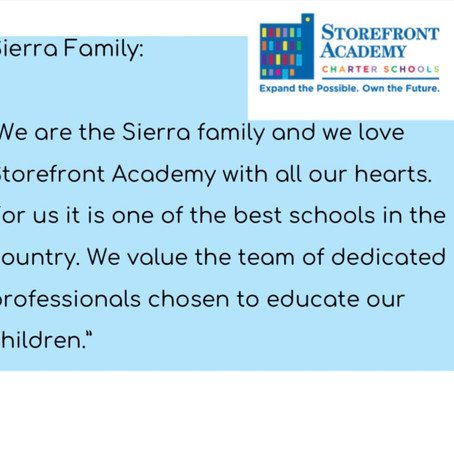 We are the Sierra Family...