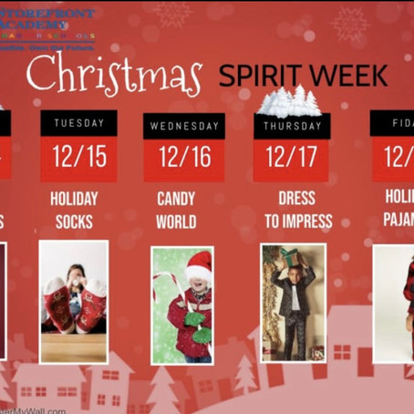 Christmas Spirit Week!