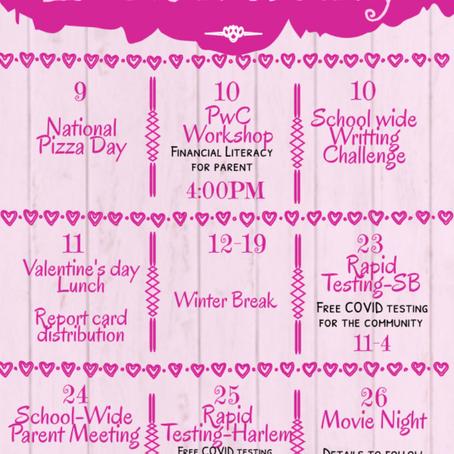 February Calendar!