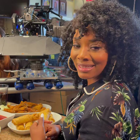Celebrity Yandy Smith shows love to Storefront Academy!