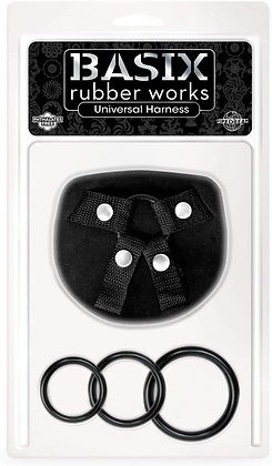 Basix Arnés Universal con 3 aros