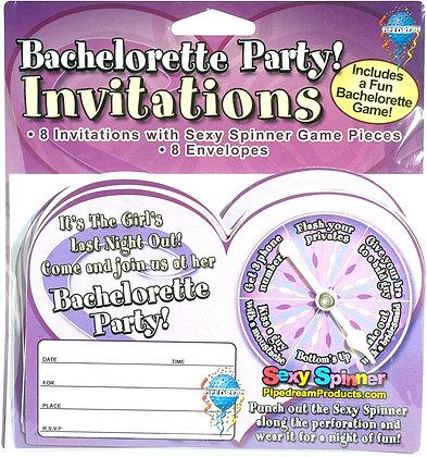 Invitaciones - Sexy Spinner
