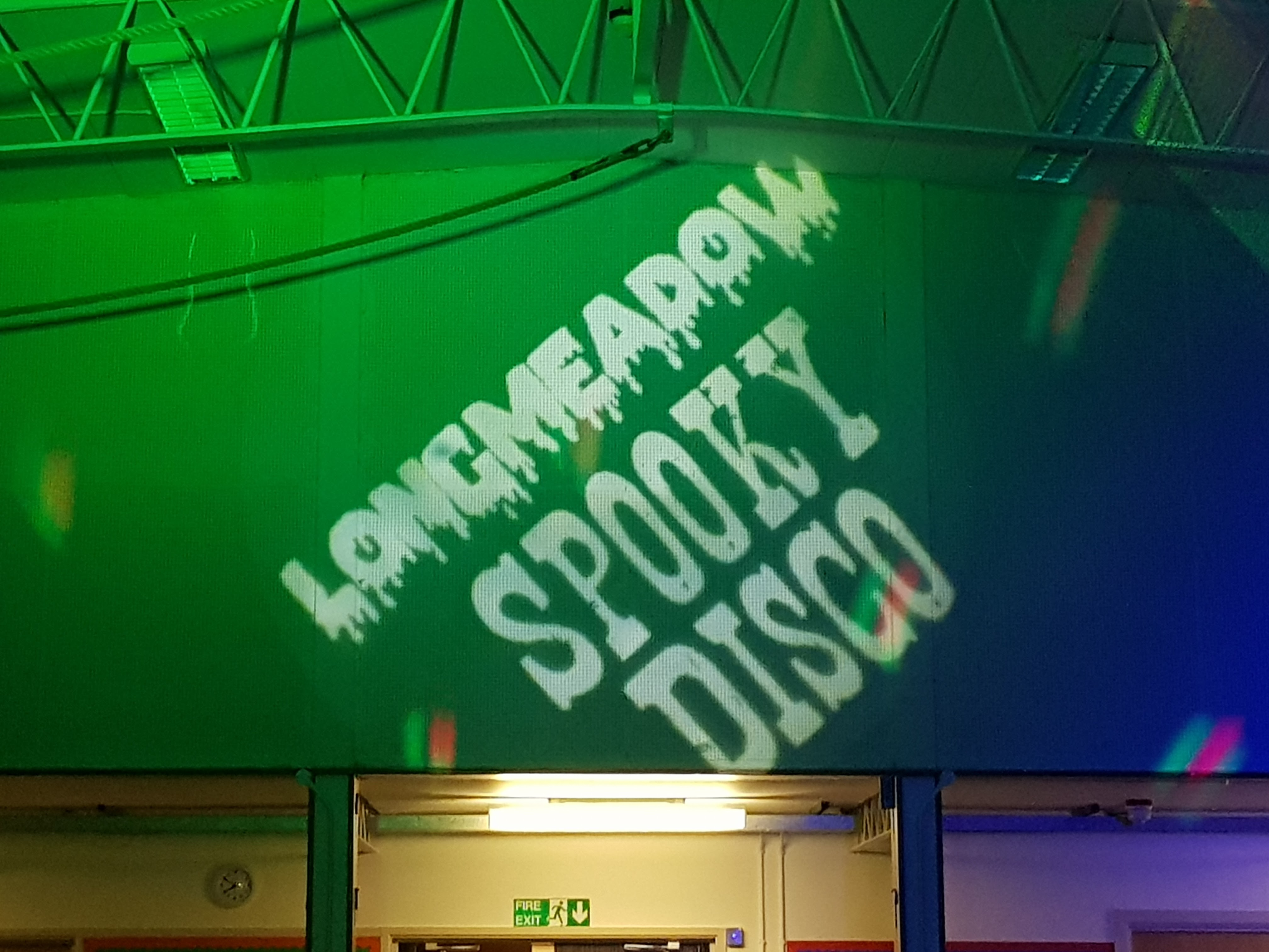 School Disco DJ - Monogram Green