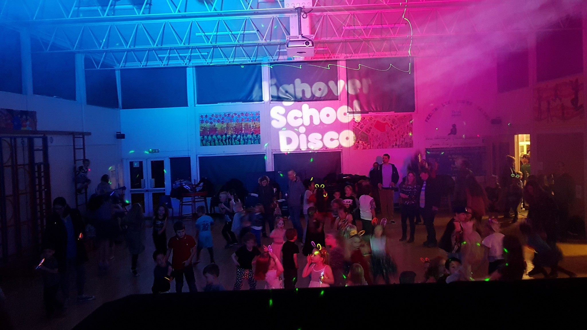 School Disco DJ - Uplighting