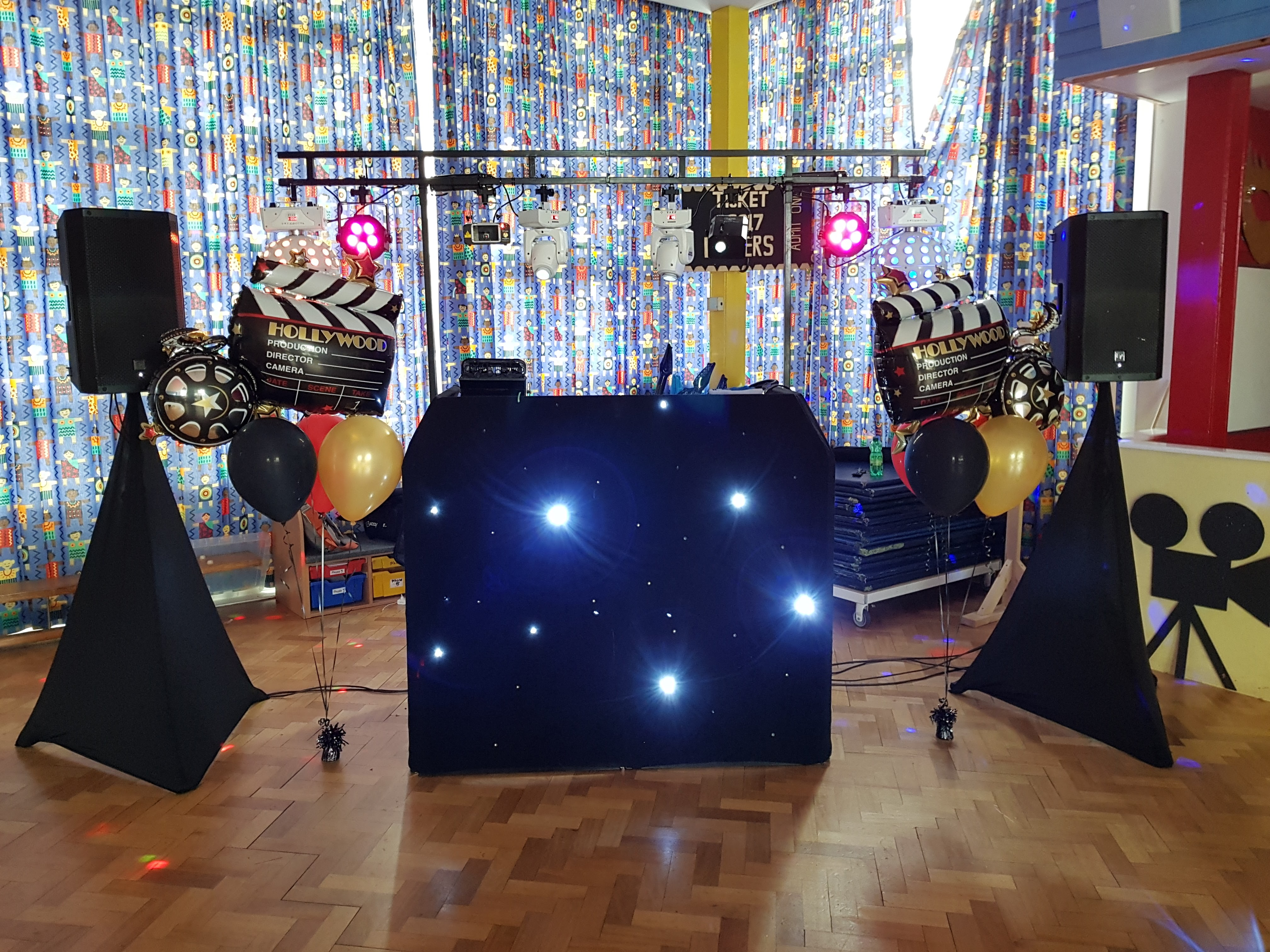 School Disco DJ - Prom Film Theme
