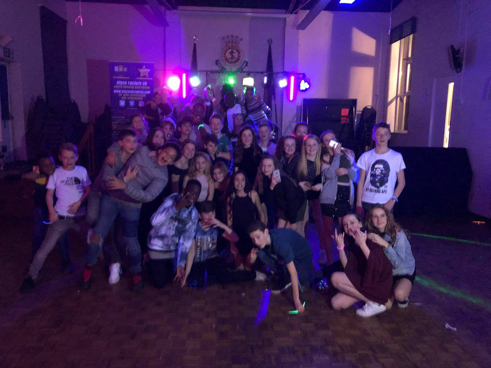 Teen UV Neon DJ - Group Photo