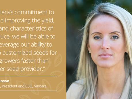 Vindara Announces Acquisition by Kalera