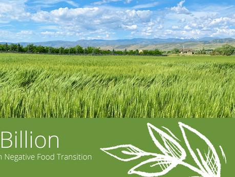 10 Billion for Carbon Negative Food Transition