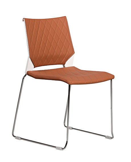 miss diamond visitor office chair