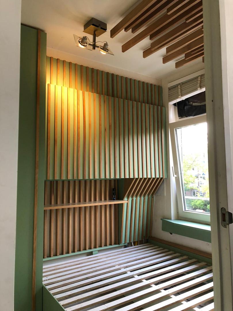 Custom made bedroom design