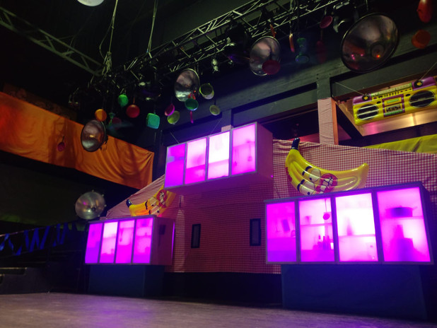 Decoration for Elrow Afterparty