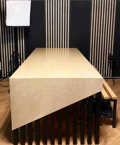 Custom tafel The Studio Personal Training
