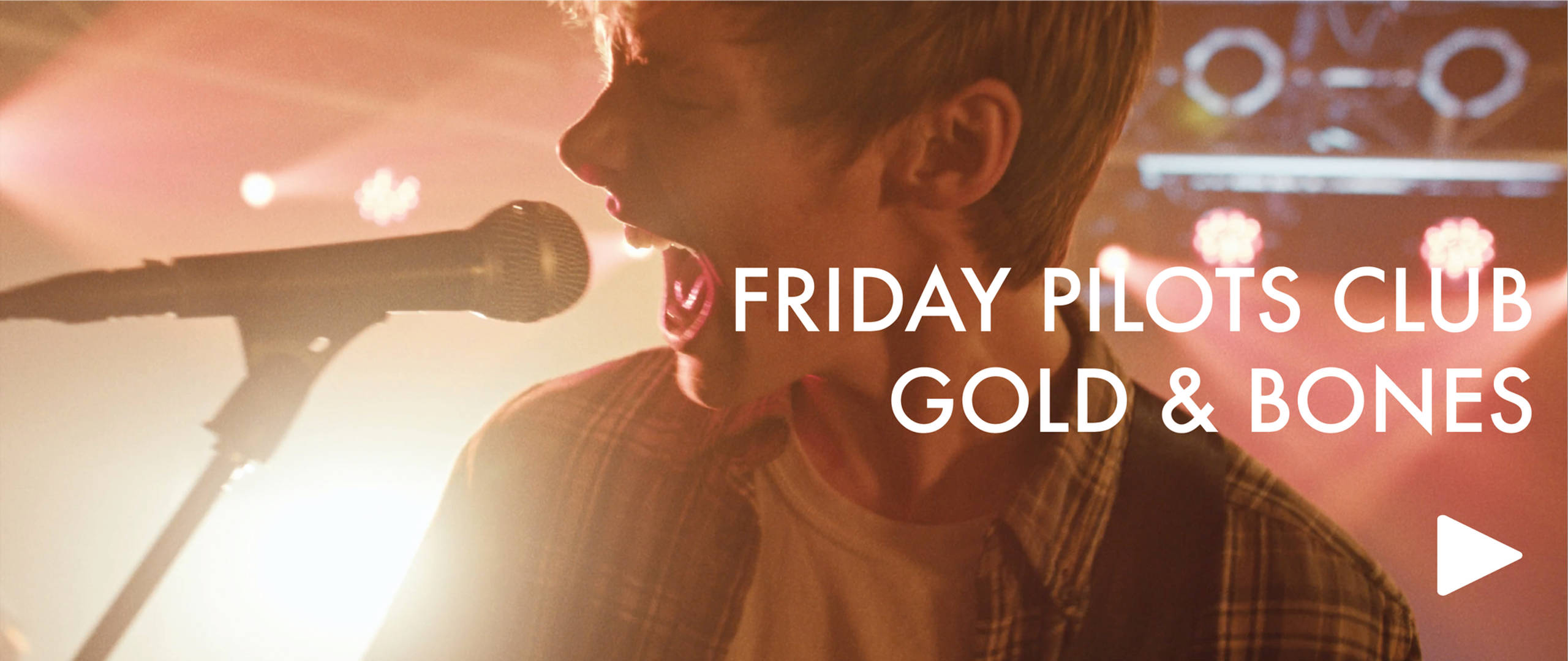 Gold and Bones - Friday Pilots Club (OFF