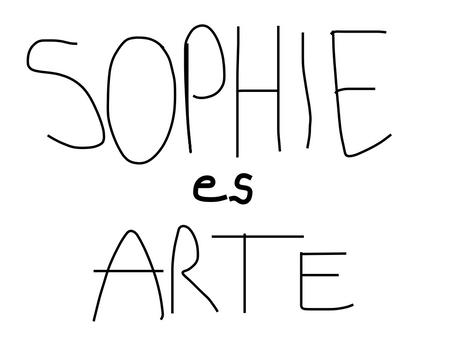 yo de mayor quiero ser como SOPHIE